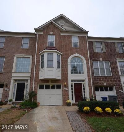 Falls Church Townhouse For Sale: 3449 Diehl Court
