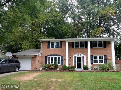 Fairfax Single Family Home For Sale: 4824 Gainsborough Drive