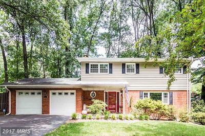 Fairfax Single Family Home For Sale: 9124 Glenbrook Road