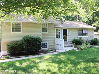 Fairfax Single Family Home For Sale: 7900 Orange Plank Road