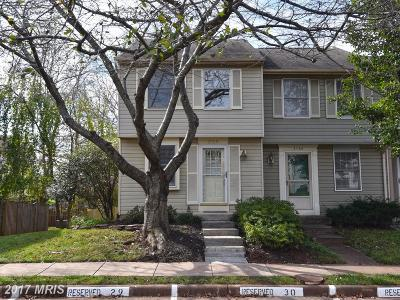 Fairfax Townhouse For Sale: 3768 Sudley Ford Court