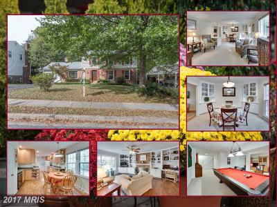 Fairfax Single Family Home For Sale: 10817 Broadwater Drive