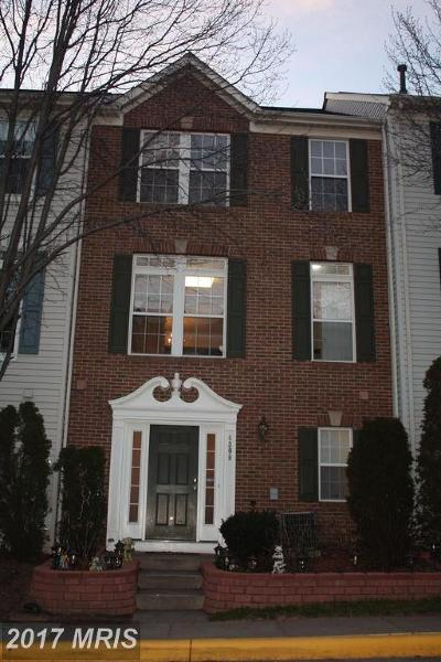 Fairfax Townhouse For Sale: 4308 Stevens Battle Lane
