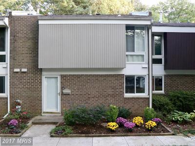 Reston Townhouse For Sale: 1749 Wainwright Drive