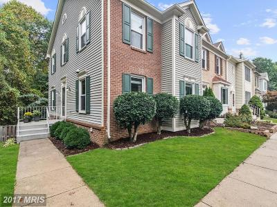 Fairfax Townhouse For Sale: 8334 Ridge Crossing Lane