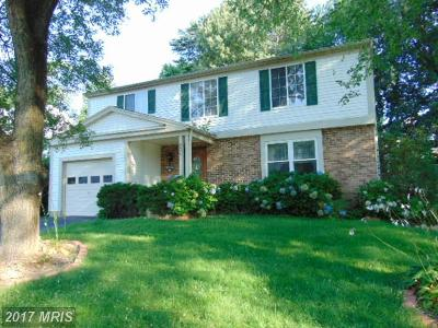 Burke Single Family Home For Sale: 9504 Ironmaster Drive