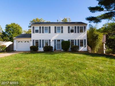 Vienna Single Family Home For Sale: 9609 Podium Drive