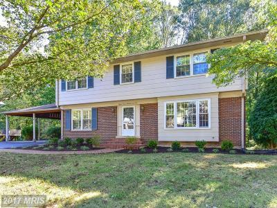 Alexandria Single Family Home For Sale: 8705 Gateshead Road