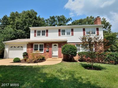 Alexandria Single Family Home For Sale: 8316 Bound Brook Lane