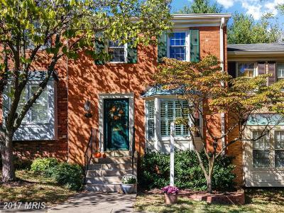 Falls Church VA Townhouse For Sale: $550,000
