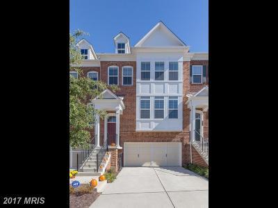 Fairfax Townhouse For Sale: 2977 Chesham Street