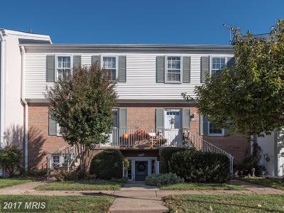Fairfax, Fairfax City Townhouse For Sale: 14370 Avocado Court