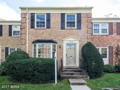 Mclean, Mc Lean Townhouse For Sale: 7005 Alicent Place