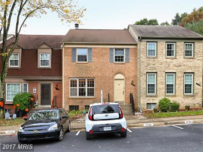 Fairfax Townhouse For Sale: 4732 Forestdale Drive