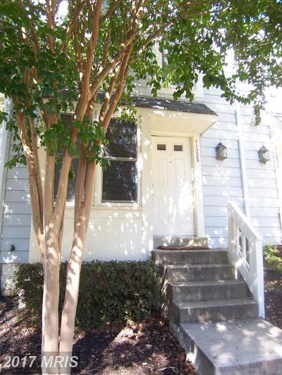 Reston Rental For Rent: 11223 Silentwood Lane