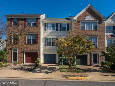 Centreville Townhouse For Sale: 6103 Asher Court