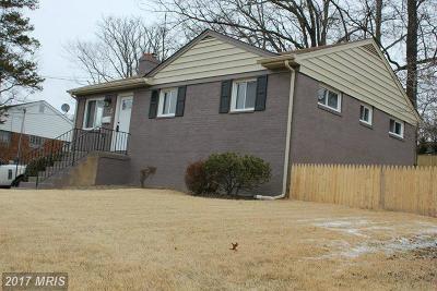 Falls Church Rental For Rent: 3207 Brush Drive