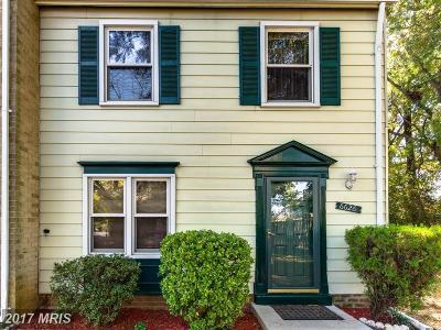 Alexandria Townhouse For Sale: 6626 Elk Park Court