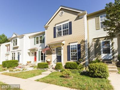 Alexandria Townhouse For Sale: 7909 Old Carriage Trail