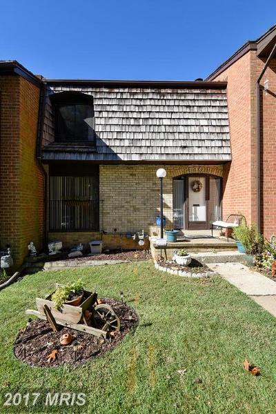 Annandale Townhouse For Sale: 4904 Casimir Street