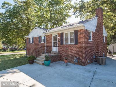 Falls Church Single Family Home For Sale: 7111 Strathmore Street