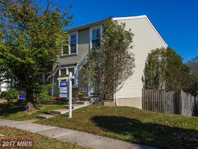 Centreville Townhouse For Sale: 5909 Spruce Run Court