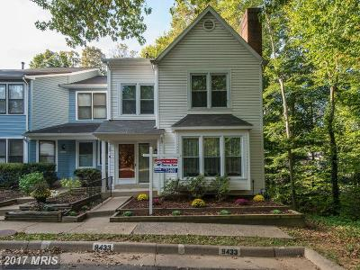 Burke Townhouse For Sale: 9433 Ulysses Court
