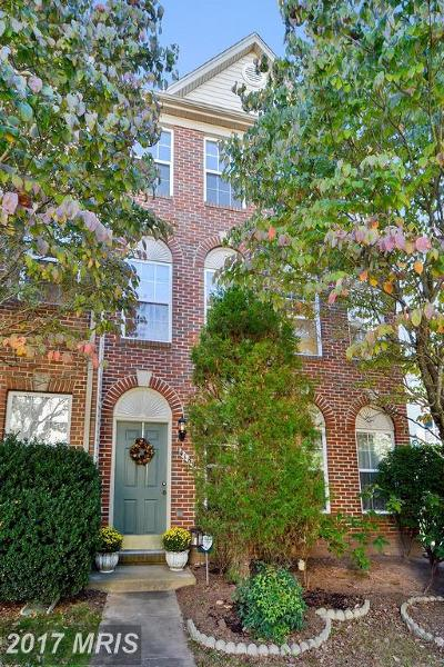 Fairfax Townhouse For Sale: 4189 Brookgreen Drive
