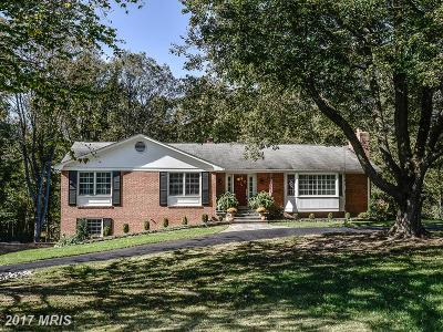 Fairfax Single Family Home For Sale: 6022 Berwynd Court