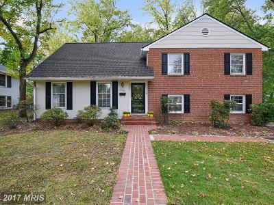 Alexandria Single Family Home For Sale: 8422 Stable Drive