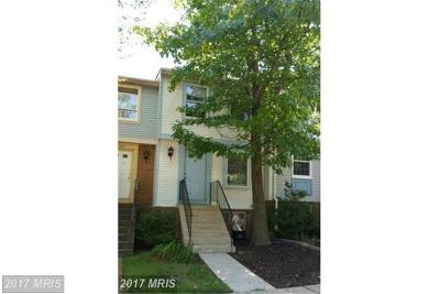 Falls Church Townhouse For Sale: 2849 Middleboro Drive