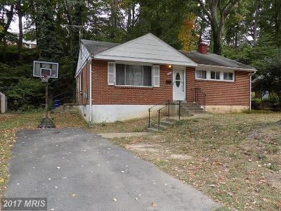 Alexandria VA Single Family Home For Sale: $379,000