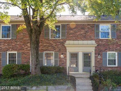 Springfield Townhouse For Sale: 8367 Dunham Court #613