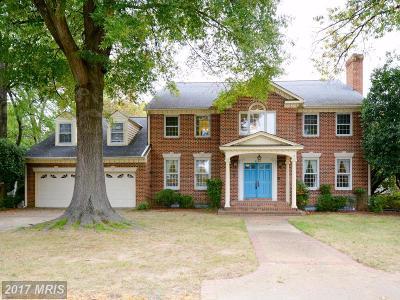 Alexandria Single Family Home For Sale: 9399 Mount Vernon Circle