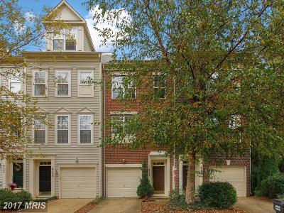 Fairfax Townhouse For Sale: 4155 Timber Log Way
