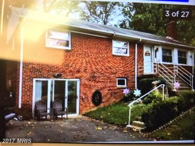 Falls Church Single Family Home For Sale: 3255 Brandy Court