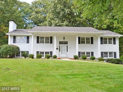 Fairfax Single Family Home For Sale: 9126 Horner Court