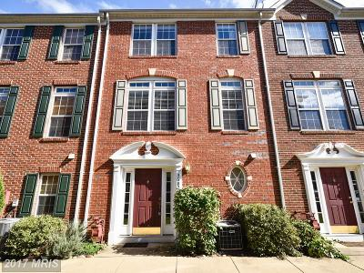 Falls Church Townhouse For Sale: 3682 Madison Watch Way