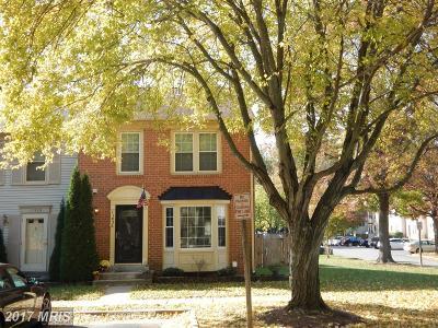 Fairfax Townhouse For Sale: 11926 Artery Drive