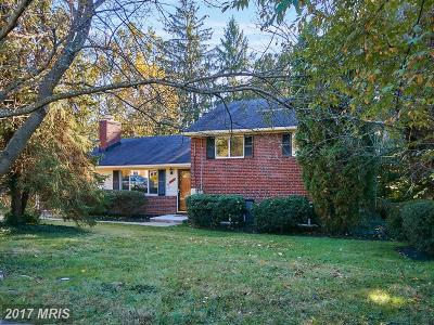 Falls Church Single Family Home For Sale: 6417 Carolyn Drive