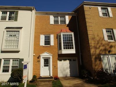 Annandale Townhouse For Sale: 4404 Airlie Way