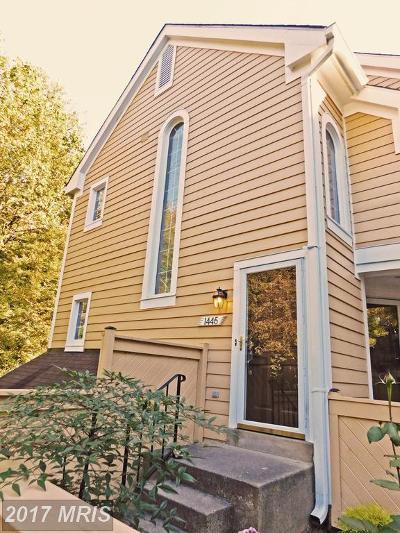Reston Condo For Sale: 1445 Church Hill Place #1445