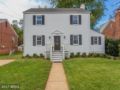 Falls Church Single Family Home For Sale: 2804 Marshall Street