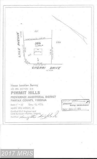 Falls Church Single Family Home For Sale: 1901 Cherri Drive