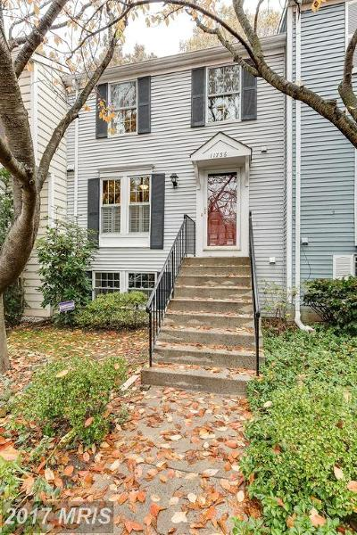 Reston Townhouse For Sale: 11756 Bayfield Court