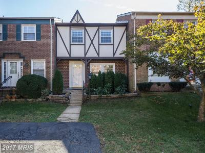 Centreville Townhouse For Sale: 14831 Haymarket Lane