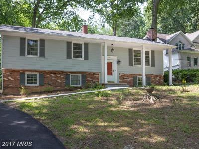 Annandale Single Family Home For Sale: 4718 Columbia Road