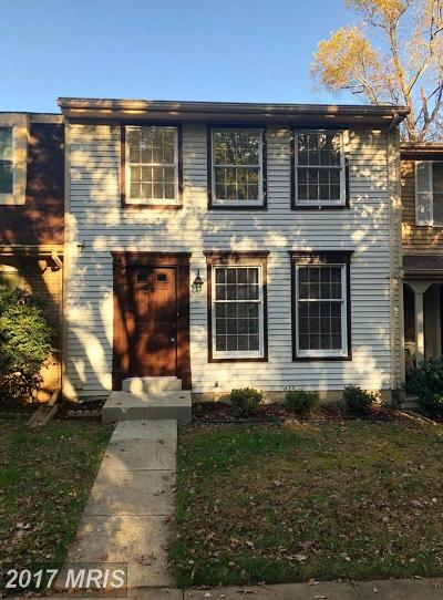 Reston Townhouse For Sale: 10965 Harpers Square Court