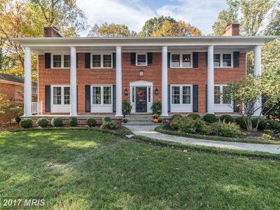 Alexandria Single Family Home For Sale: 9413 Brambly Lane