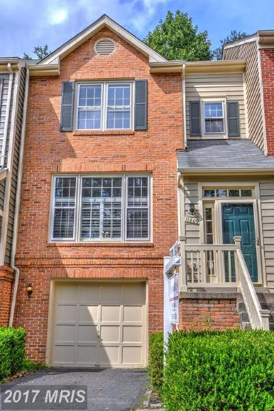 Reston Townhouse For Sale: 11809 Great Owl Circle